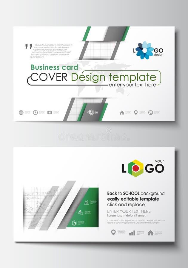 Keine Steigungen von Effekten Umfassen Sie Designschablone, einfachen editable freien Raum, flacher Plan der Zusammenfassung Zurü stock abbildung