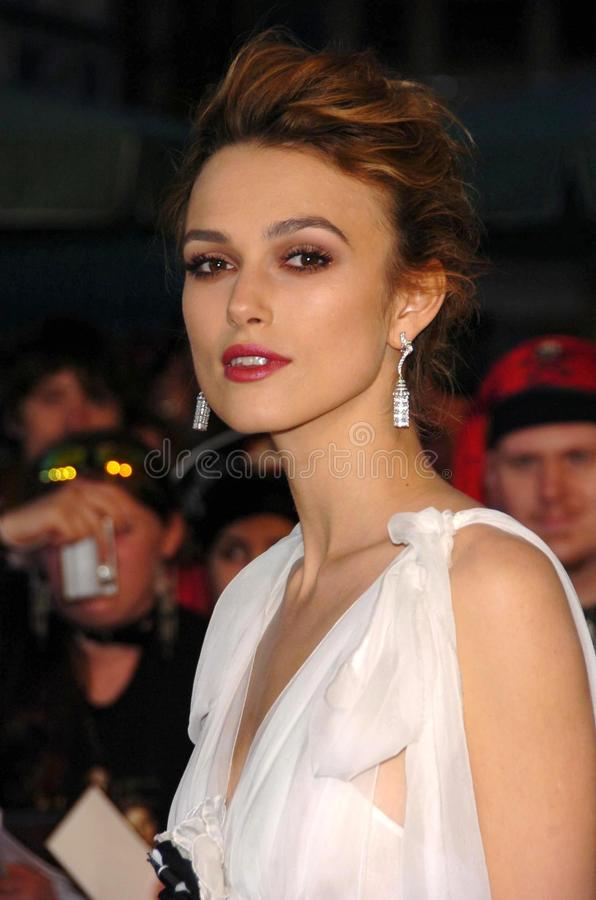 Keira Knightley. At the premiere of Disney's 'Pirates of the Caribbean: Dead Man's Chest'. Disneyland, Anaheim, CA. 06-24-06 stock images