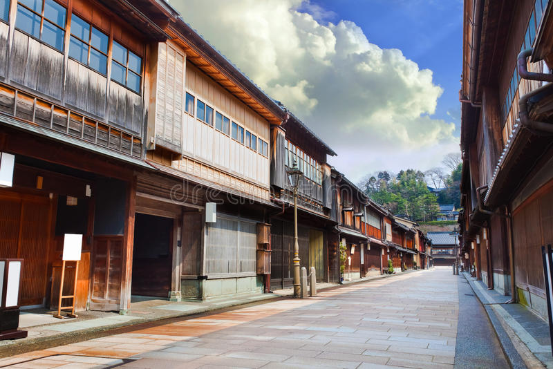 Keisha village at Kanazawa royalty free stock photo