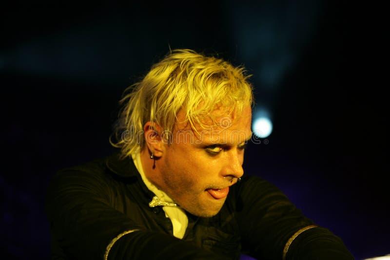 Keith Flinth, το θαύμα, συναυλία στη Ρωσία 2005 στοκ εικόνα με δικαίωμα ελεύθερης χρήσης