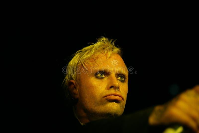 Keith Flinth, το θαύμα, συναυλία στη Ρωσία 2005 στοκ φωτογραφία με δικαίωμα ελεύθερης χρήσης