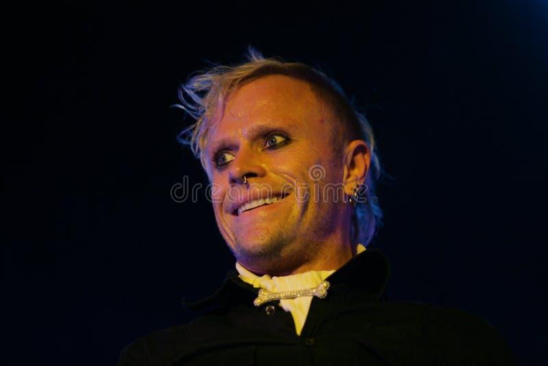 Keith Flinth, Prodigy, concerto in Russia 2005 fotografie stock libere da diritti