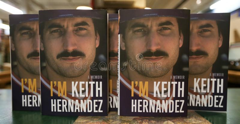 Keith Hernandez foto de stock