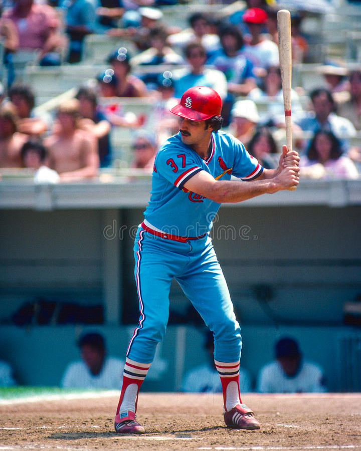 Keith Hernandez St. Louis Cardinals. photographie stock