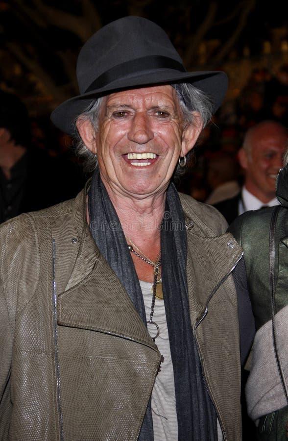 Keith Richards photo libre de droits