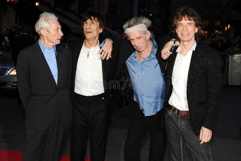 Keith Richards, Charlie Watts lizenzfreies stockbild