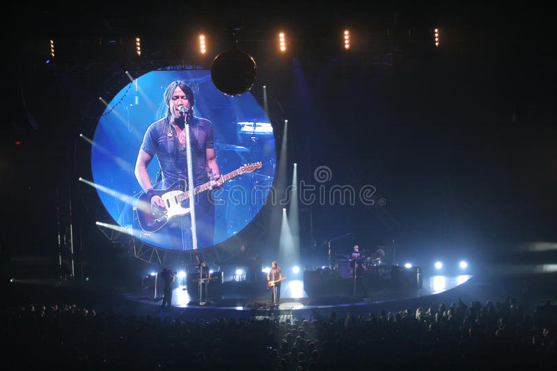 Download Keith Urban editorial photography. Image of country, live - 21601017