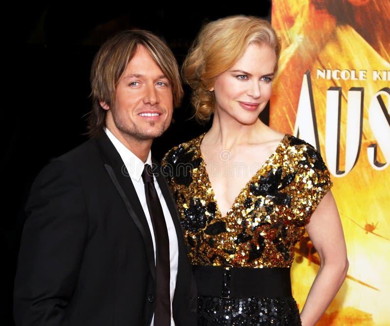 Keith Urban et Nicole Kidman photographie stock