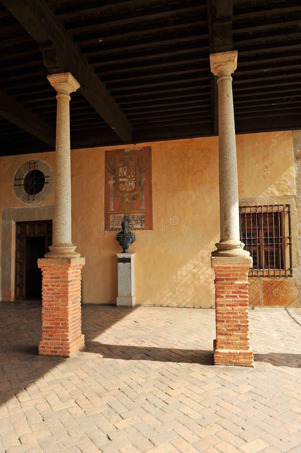 Keizer Charles V in het Klooster van Yuste, provincie van Caceres, Spanje royalty-vrije stock afbeelding