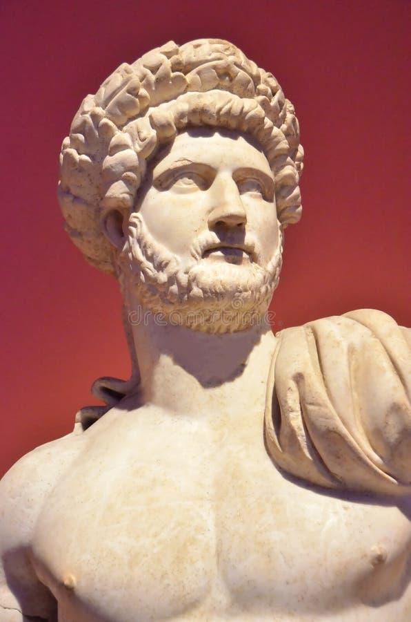 Keizer Hadrian stock foto's