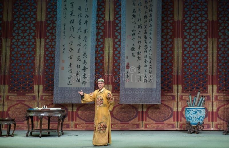 """Keizer studie-Shanxi Operatic""""Fu Shan aan Beijing† royalty-vrije stock foto"""