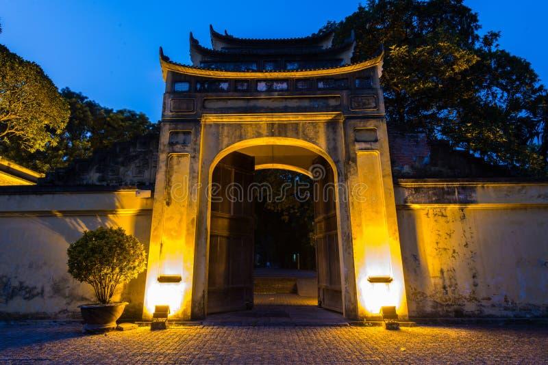 Keizercitadel van Hanoi royalty-vrije stock afbeeldingen
