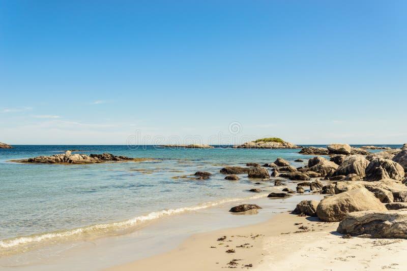 Keji Seaside beach. (South Shore, Nova Scotia, Canada royalty free stock photo