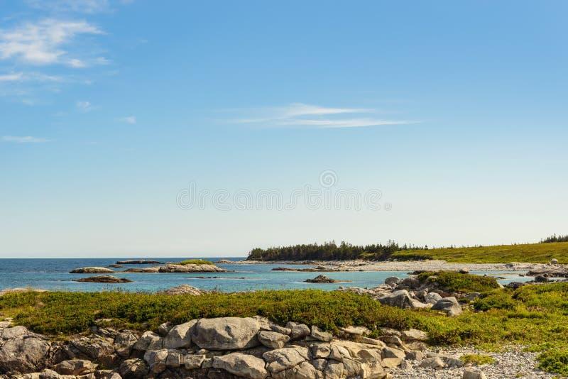 Keji Seaside beach. (South Shore, Nova Scotia, Canada royalty free stock photography