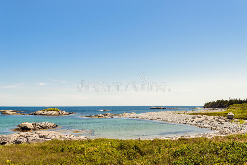 Keji Seaside beach. (South Shore, Nova Scotia, Canada royalty free stock photos