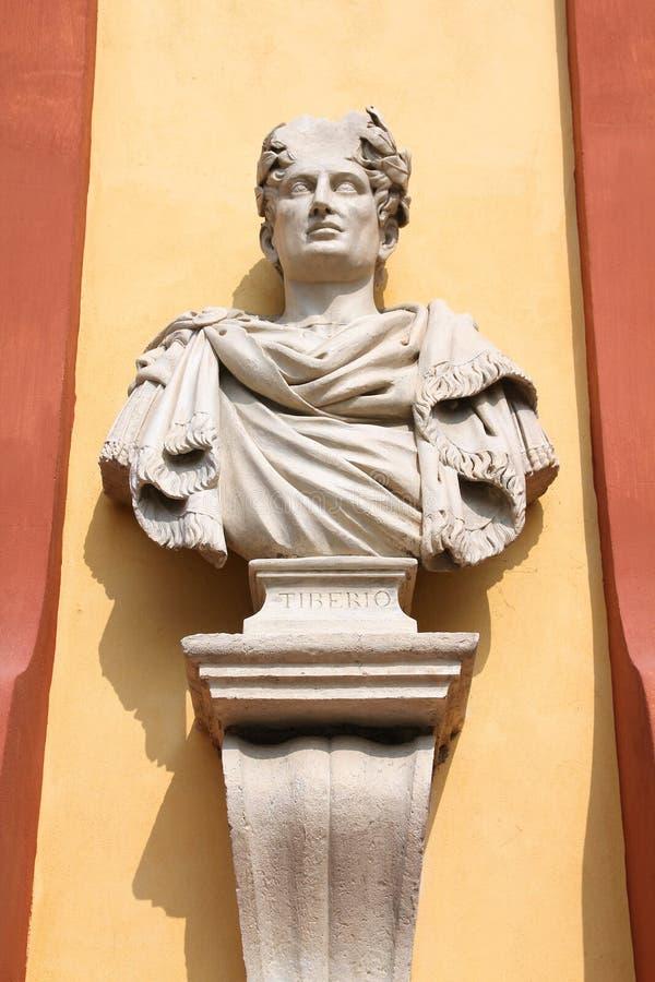 Kejsare av Rome Tiberius arkivfoton