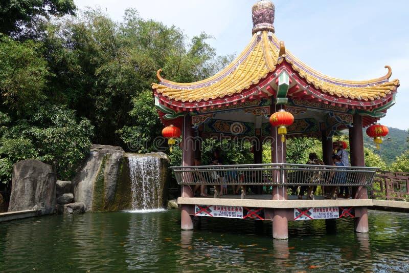 kek lok槟榔岛si寺庙 库存图片
