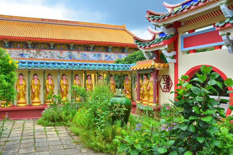 kek lok槟榔岛si寺庙 库存照片