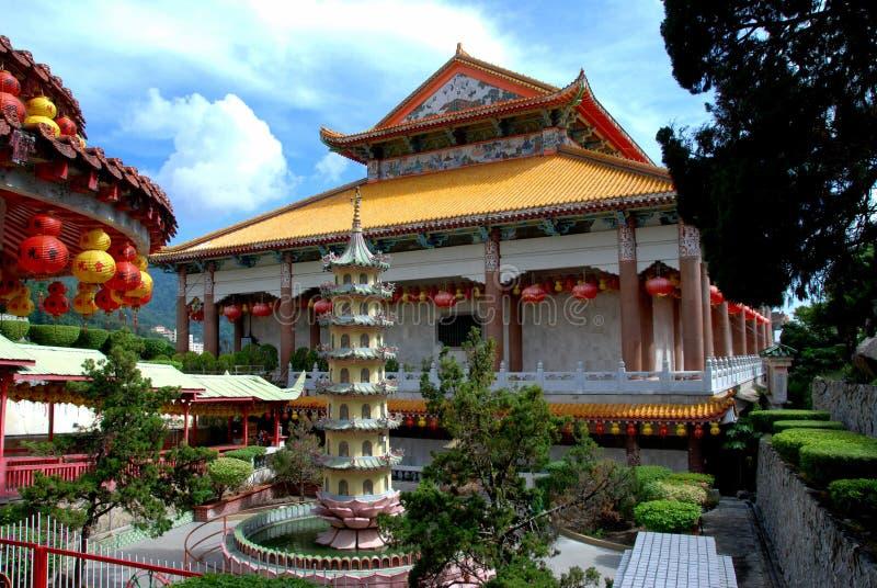kek lok马来西亚槟榔岛si寺庙 免版税库存图片