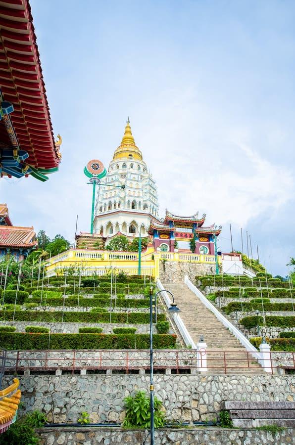 Kek Lok Si寺庙在空气Itam,槟榔岛 免版税图库摄影