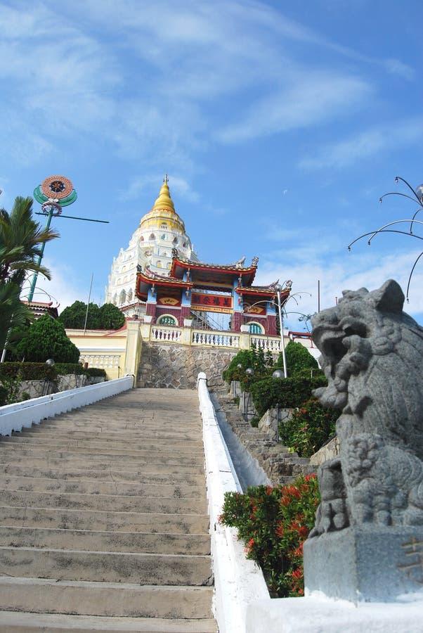 Kek Lok Si świątynia, Georgetown Penang Malezja obraz royalty free