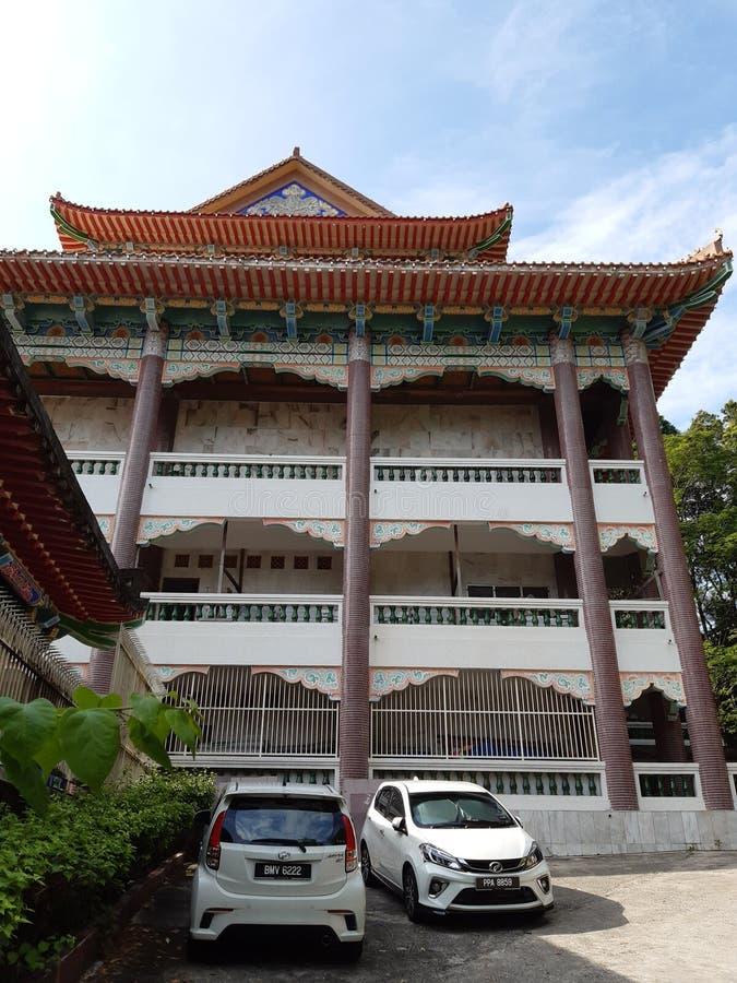 Kek Lok Si Crematorium Penang zdjęcie royalty free