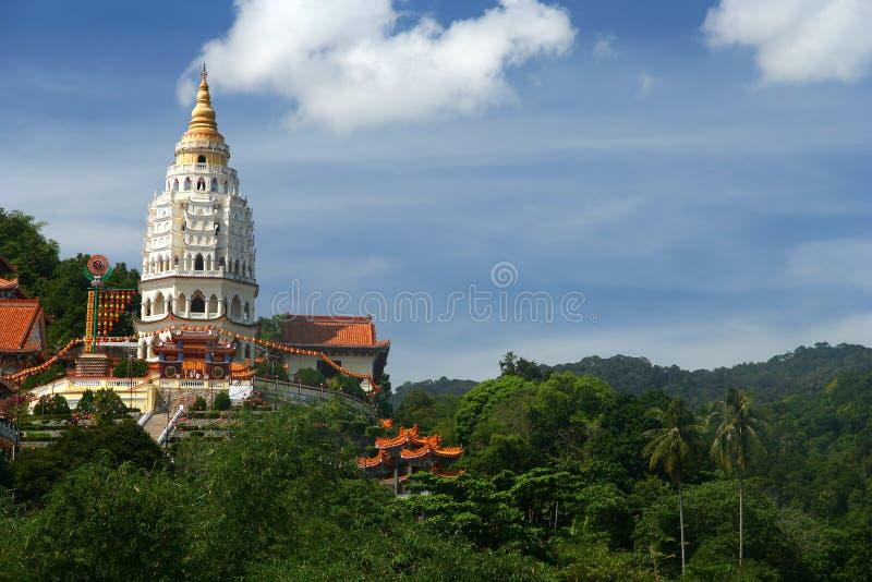 Kek Lok Si tempel arkivfoto