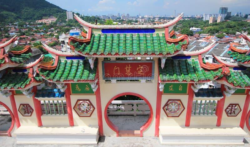 Kek Lok Si tempel fotografering för bildbyråer