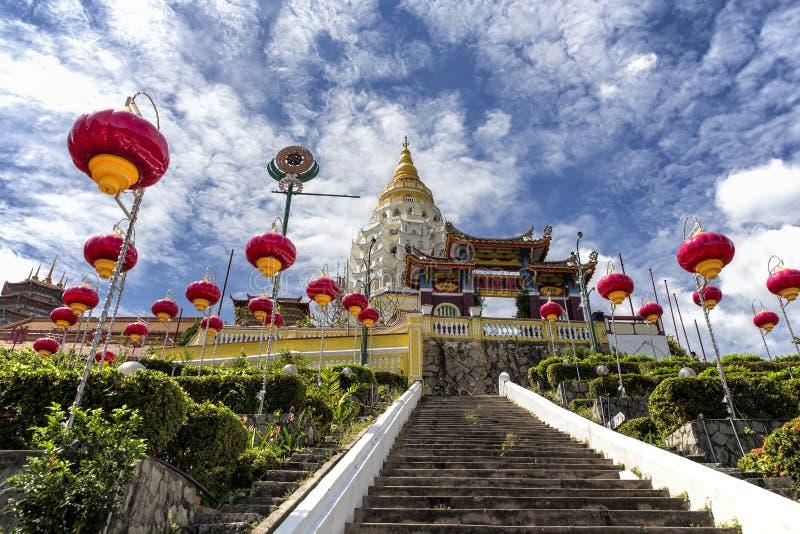 Kek Lok Si, tempio buddista a Penang Malesia immagine stock libera da diritti