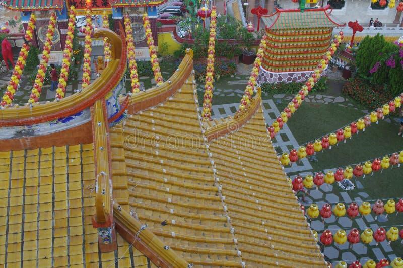 The Kek Lok Si Temple stock photo