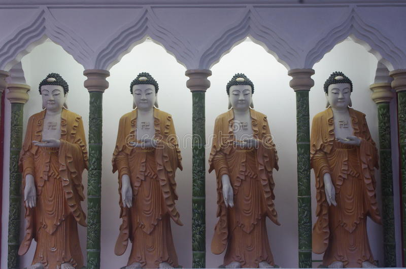 The Kek Lok Si Temple royalty free stock images