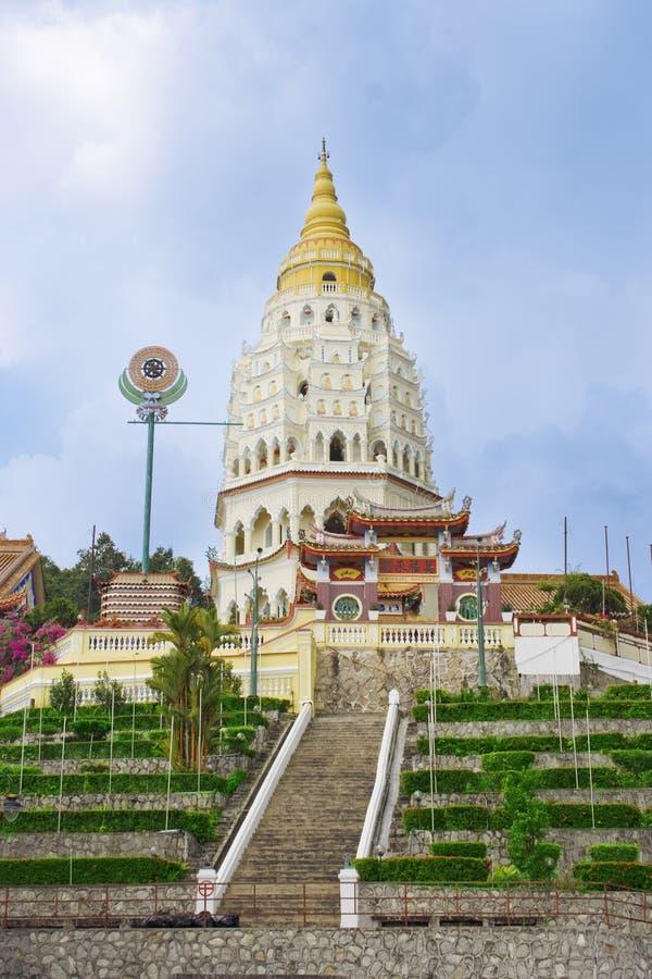 Kek Lok Si Temple i Penang arkivfoton