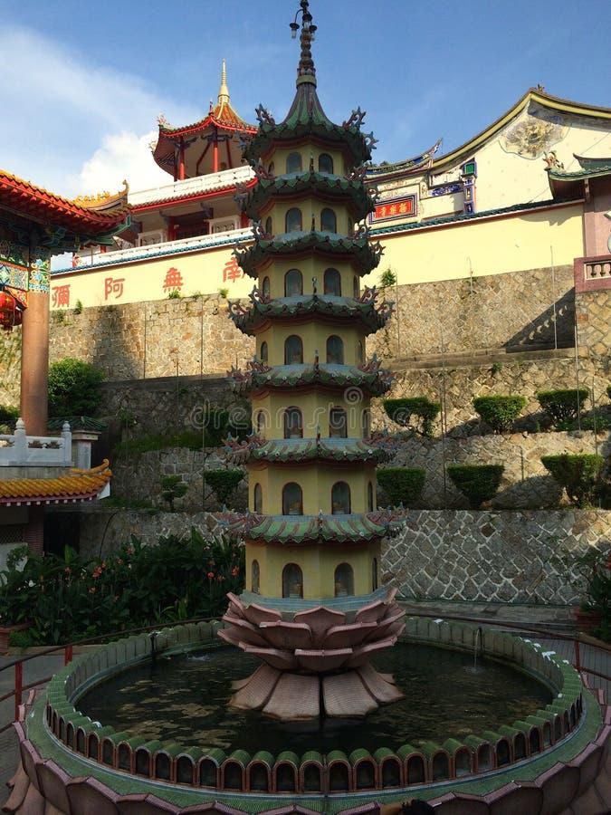 Kek Lok Si Temple Penang, Malaisie photo libre de droits