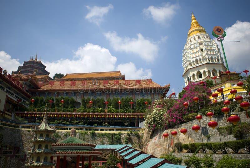 Kek Lok Si temple, Penang, Malaysia. Kek Lok Si is a Buddhist temple in Penang, Malaysia stock image