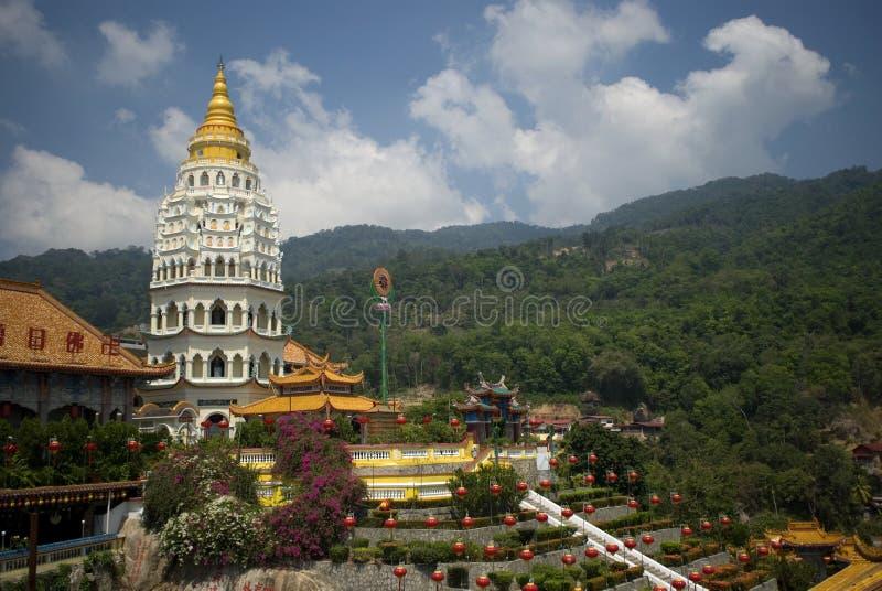 Kek Lok Si temple, Penang, Malaysia royalty free stock photos