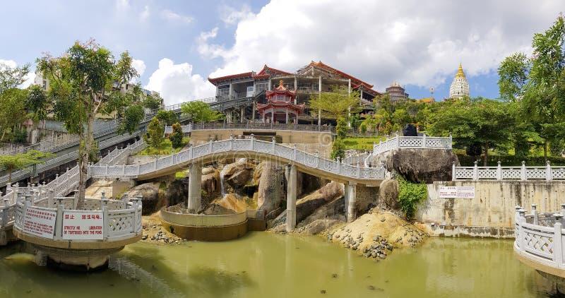 Kek Lok Si ?wi?tynia w Penang wyspie, Malezja zdjęcie stock