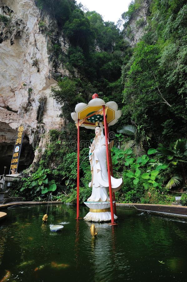 Kek Lok Tong Cave Temple. The Kek Lok Tong Cave Temple is a tourist attraction situated in the natural and picturesque area of Gunung Rapat in the south of Ipoh stock images