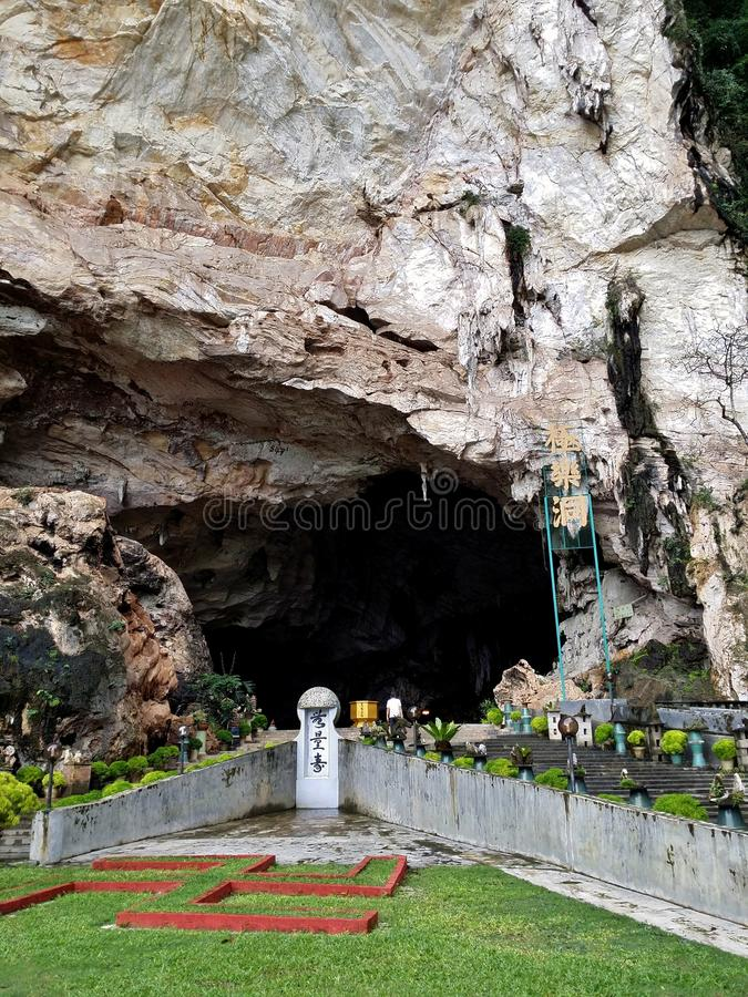 Cave temple royalty free stock photos