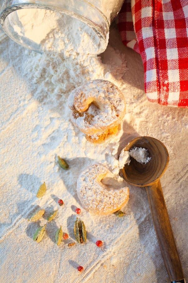 Kekse für Christmastime lizenzfreie stockfotografie