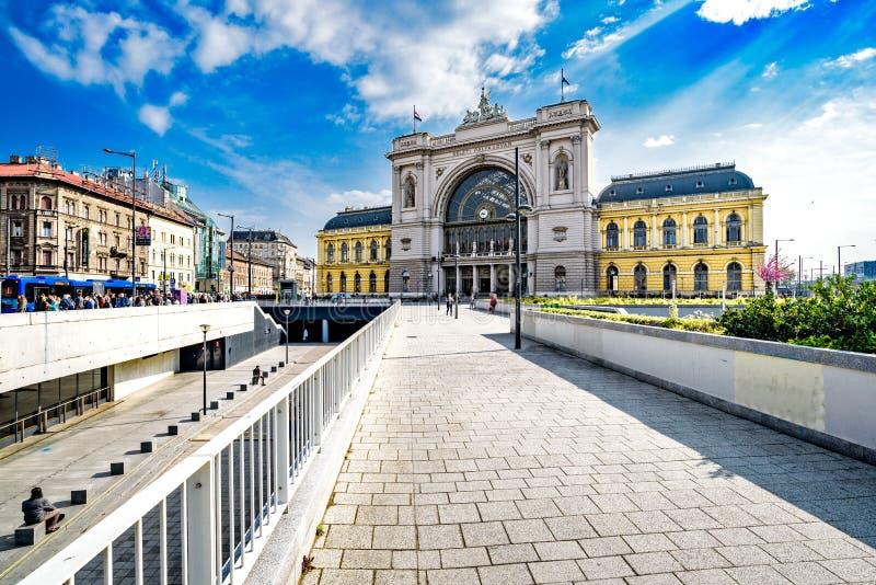 Keleti railway station in Budapest royalty free stock image