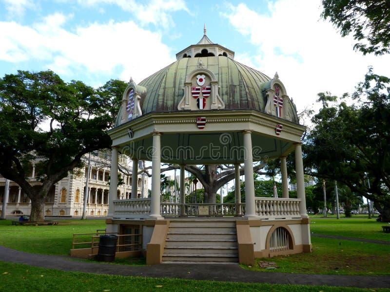 Keli& x27 ; iponi Hali - le pavillon de couronnement image stock