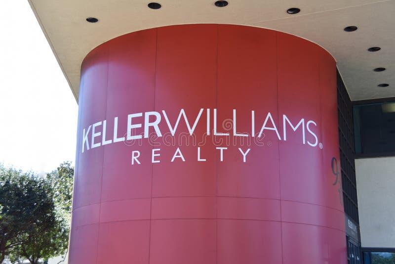 Keller Williams Realty fotografering för bildbyråer