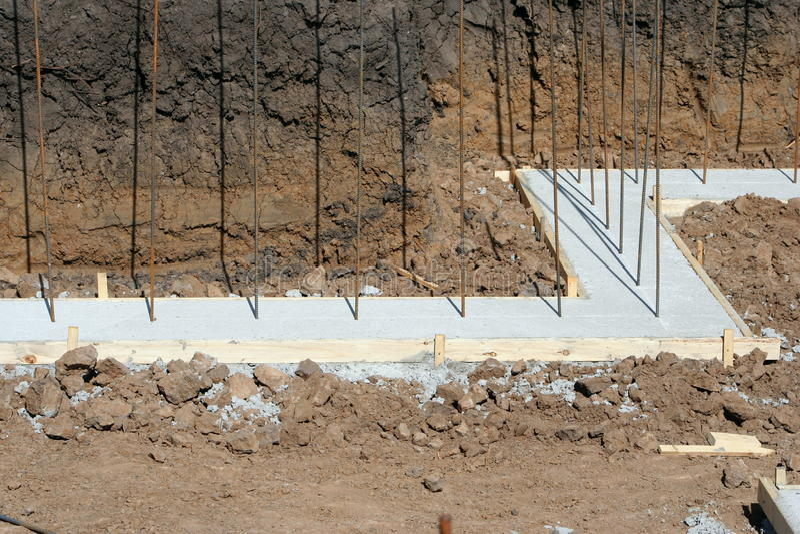 Kellermauerfundament lizenzfreies stockfoto