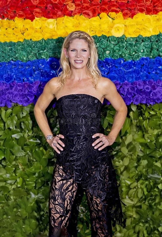 Kelli O 'Hara bij 2019 Tony Awards royalty-vrije stock afbeeldingen