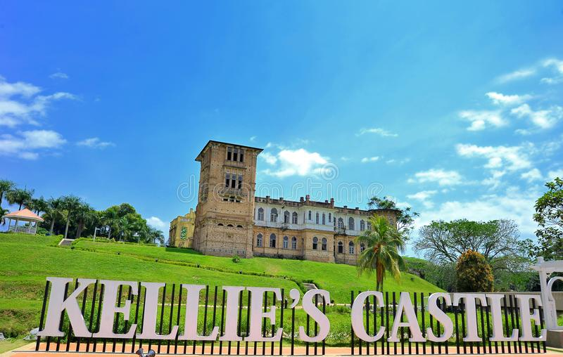 Kellie`s Castle royalty free stock photography