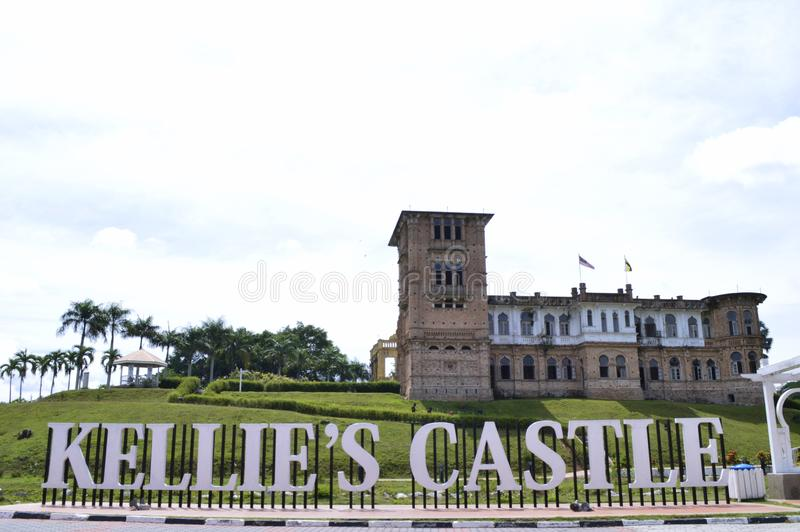 The Kellie`s Castle old building royalty free stock photo