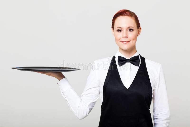 Kellnerin lizenzfreies stockbild