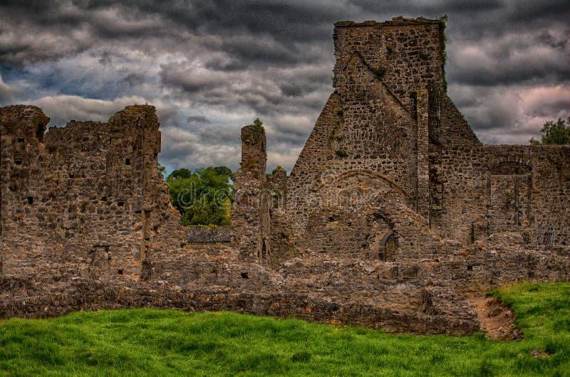 Kells-Kloster in Süd-Irland stockbild