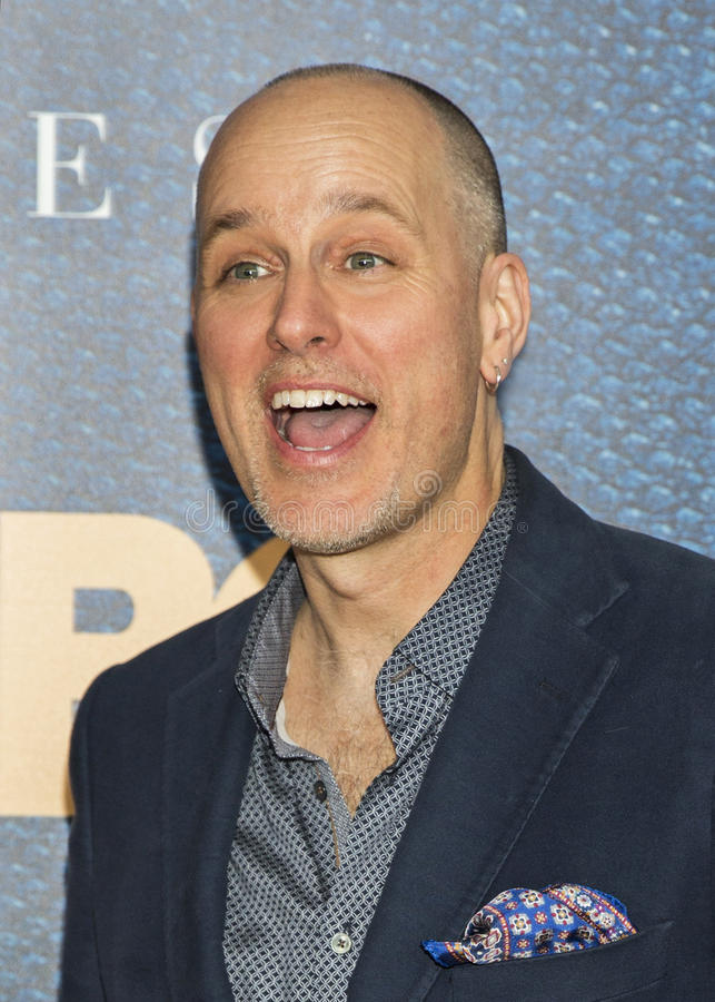 Kelly AuCoin. Actor Kelly AuCoin arrives for the New York City premiere of `The Wizard of Lies,` at the Museum of Modern Art MOMA on May 11, 2017. The HBO royalty free stock photography