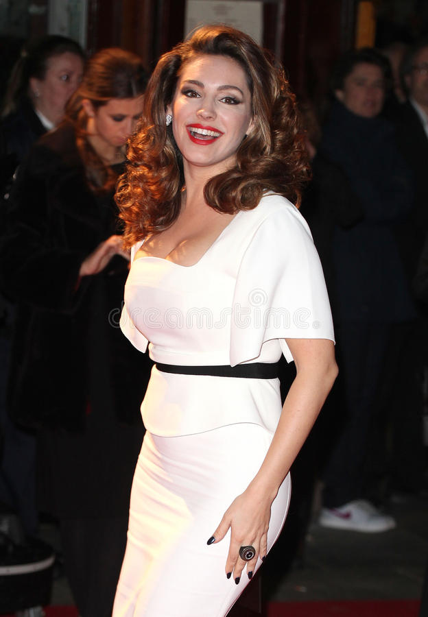 Kelly Brook. Arriving for the 2013 British Fashion Awards, at The London Coliseum, London. 02/12/2013 Picture by: Alexandra Glen / Featureflash stock photo